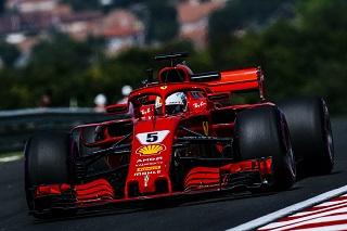© Ferrari - Vettel sort du bois dès le vendredi !