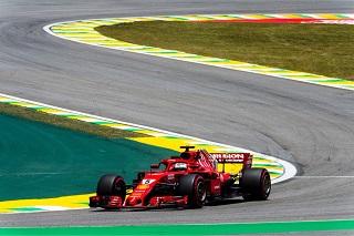 © Ferrari - Vettel en impose lors des EL3