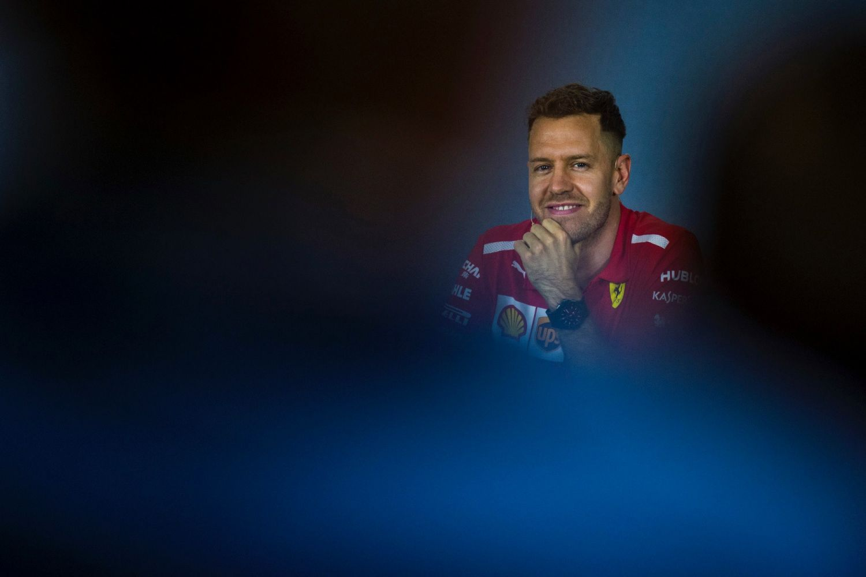 © Ferrari - Sebastian Vettel ne tarit pas d'éloges sur le bon comportement de sa Ferrari !