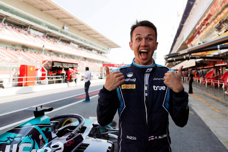 © Fia / Formula 2 - Alexander Albon obtient la pole la plus importante de la saison !
