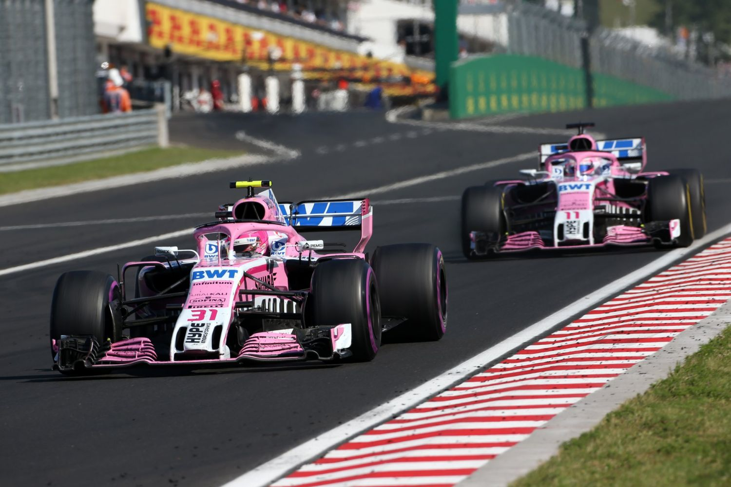 © Force India - L'équipe s'appellera désormais Racing Point F1 Team