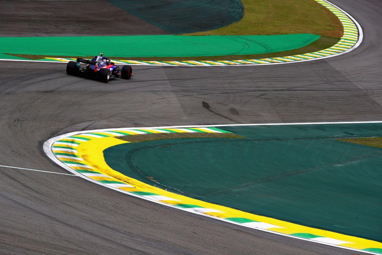 La Toro Rosso à Sao Paulo en 2018