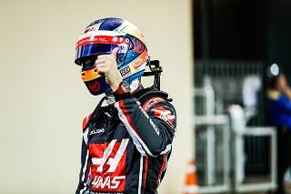 © Haas - Romain Grosjean encore dans les points