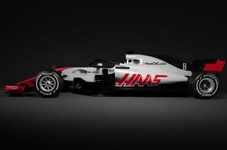 © Haas - La VF18 a été présenté en milieu d'après midi