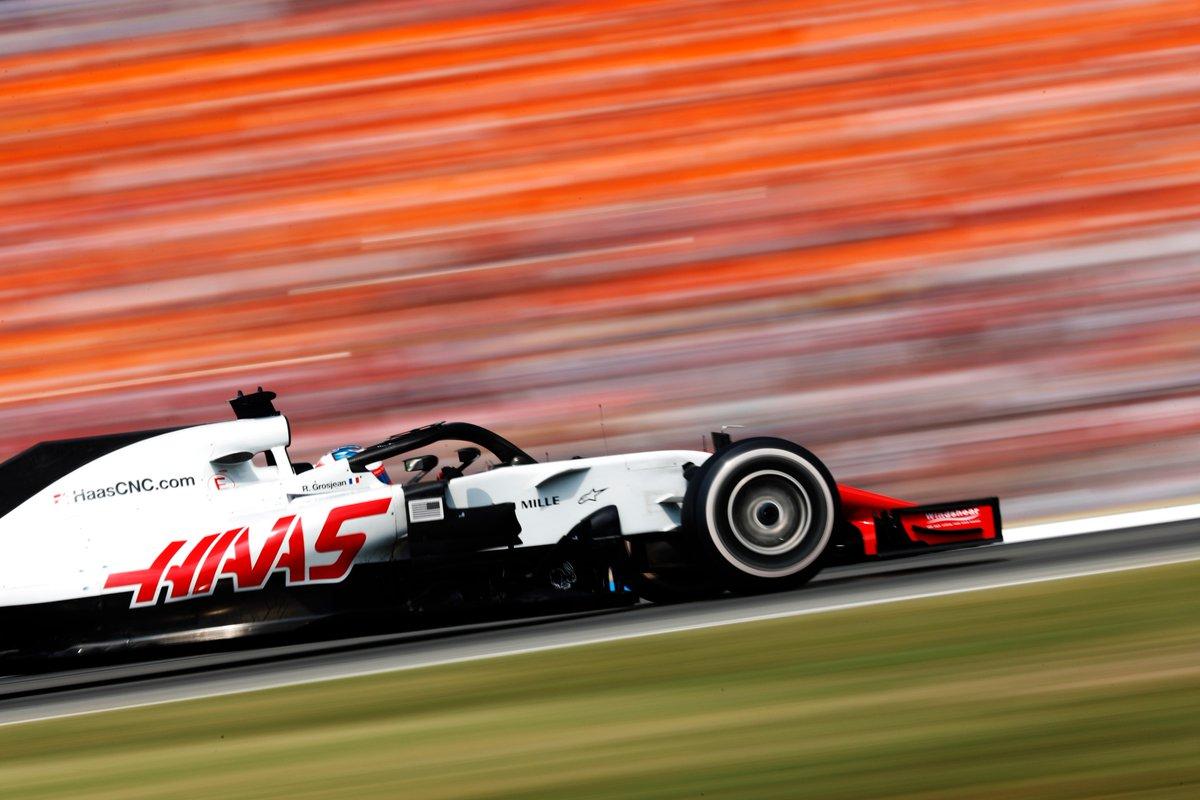 © Haas F1 Team - Romain Grosjean s'est illustré sous la pluie allemande, en décrochant une belle sixième place !