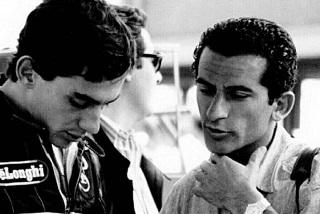 © DR - Ayrton Senna et Lionel Froissart en 1986