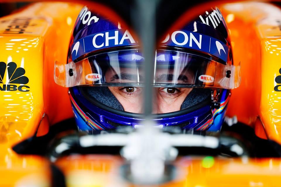 © McLaren - Alonso de retour dans une monoplace de F1