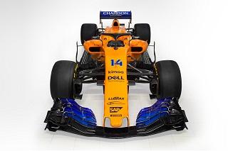 © McLaren - La MCL33 tout d'orange vêtue