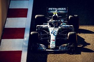 © Mercedes - Bottas prend le meilleur temps en EL2