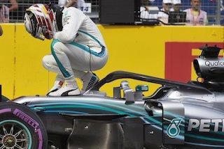 © Mercedes - Hamilton vainqueur en France !