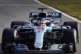 © Mercedes - Hamilton toujours au Top en 2018