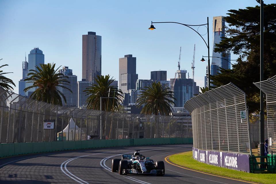 © Mercedes - report probable pour le GP de Melbourne