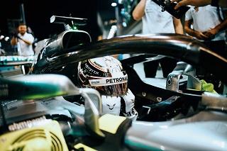 © Mercedes - Hamilton sur la plus haute marche du podium ?