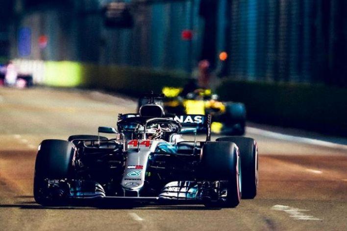 © Mercedes - Lewis Hamilton n'a jamais été menacé à Singapour