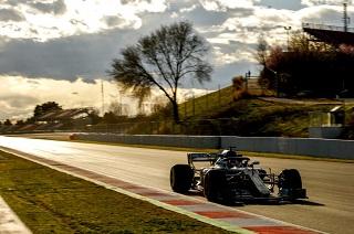 © Mercedes - Les pilotes seront en piste aujourd'hui