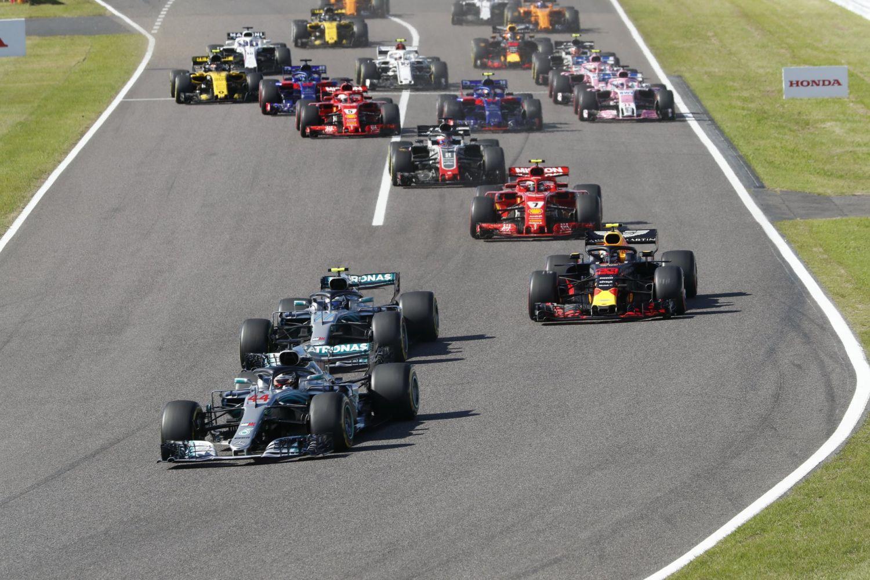 © Mercedes - Hamilton et Mercedes, un duo clairement au-dessus des autres à Suzuka