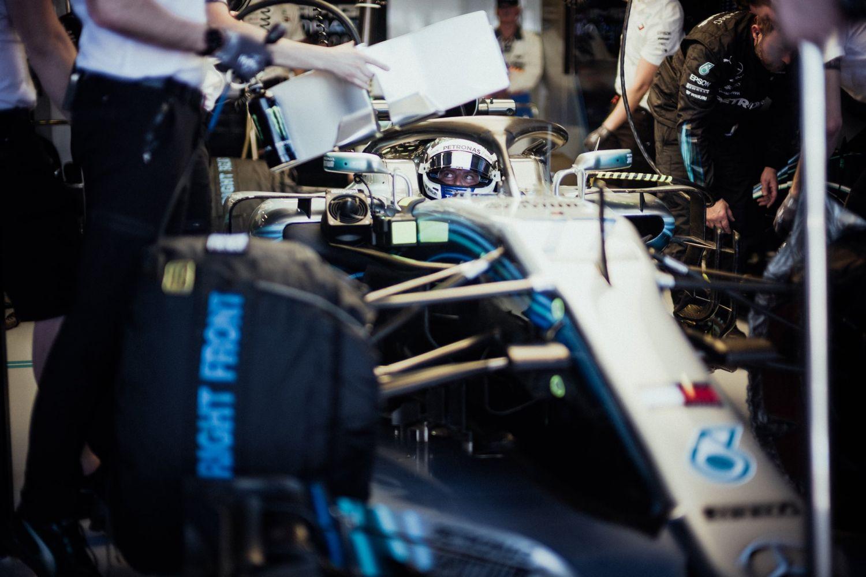 © Mercedes-AMG - Le Finlandais est allé au charbon ce vendredi matin