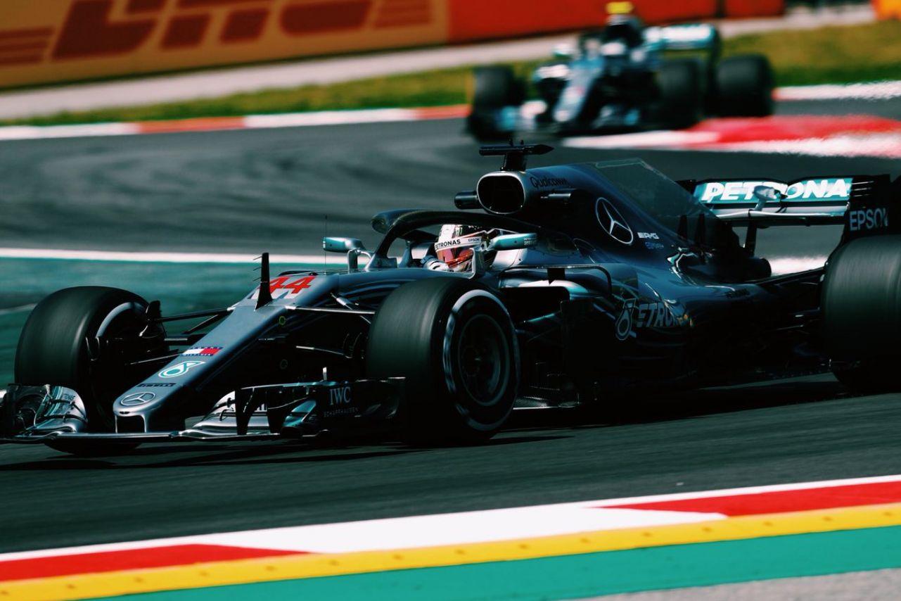 © Mercedes-AMG - Le Britannique s'est réveillé pour la deuxième séance