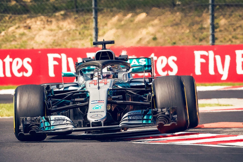 © Mercedes - Avec ses six victoires, Hamilton reste le pilote référence sur le Hungaroring