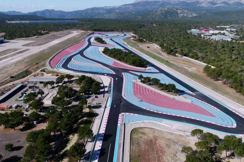 Le circuit du Castellet, habitué au soleil de Méditerranée