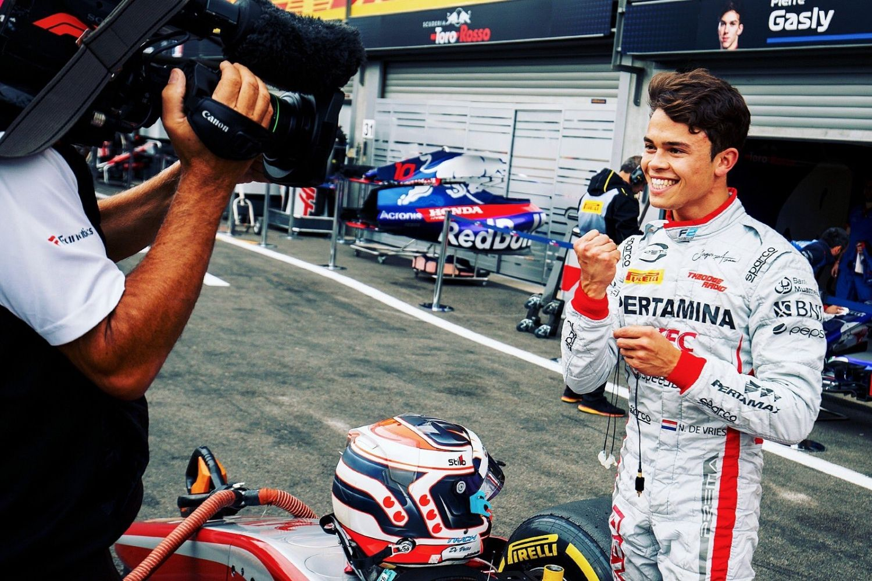 © Prema - Fin de l'alliance de Vries- McLaren