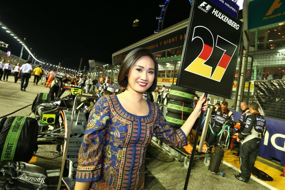 © Racing Point Force India - Vous les aviez oubliées, les grid girls reviennent le temps d'un week-end à Singapour