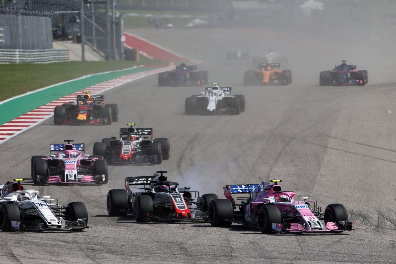 Ocon a échappé à l'accrochage Grosjean/Leclerc... mais pas aux commissaires