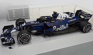 © Red Bull - Couleurs provisoires pour la RB14 ?