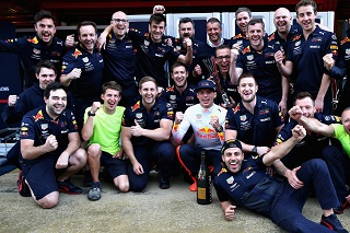 © Red Bull - Verstappen et Red Bull satisfaits du podium