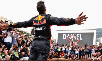 © Red Bull Racing - Daniel Ricciardo a plané sur le week-end à Monaco