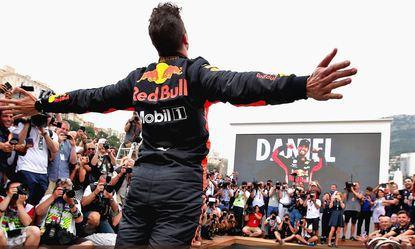 © Red Bull Racing - Daniel Ricciardo a plané sur le week-end à Monaco