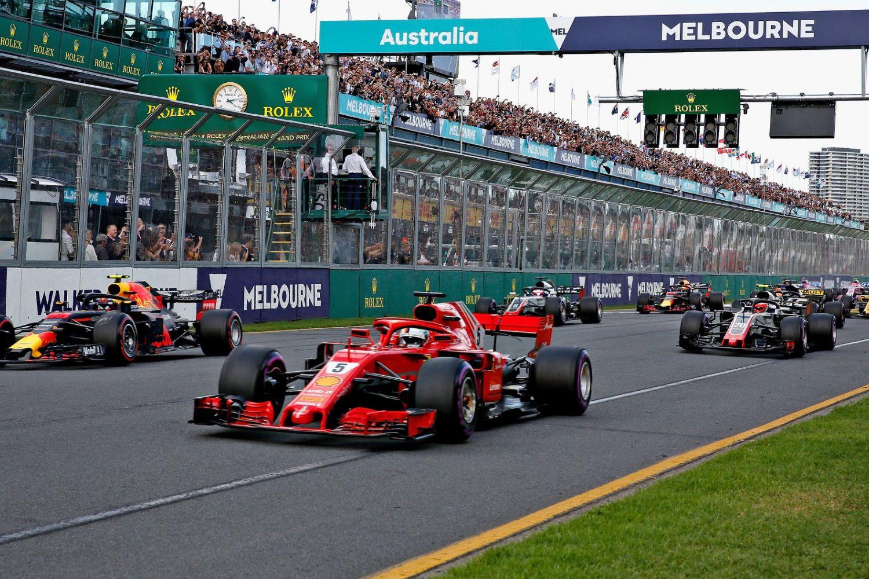 © LAT - Départ du Grand Prix d'Australie