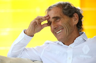 Interview – Alain Prost (Renault F1 Team) :