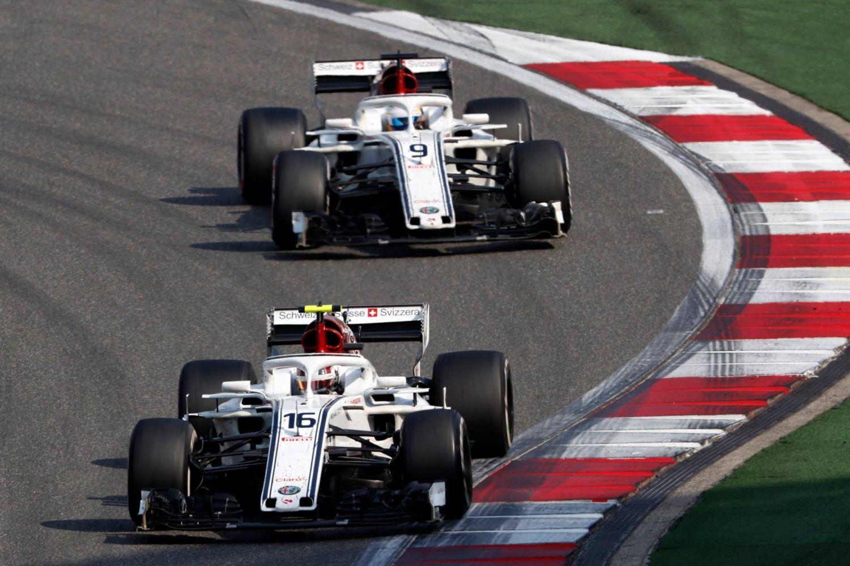 Une photo qui ilustre aussi la dynamique entre les deux pilotes sur cette demi-saison