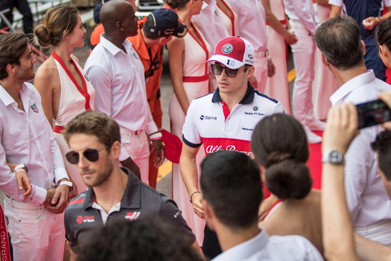 © Sauber - Charles Leclerc a vécu une semaine particulière, malgré l'abandon en course
