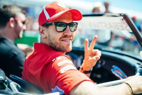 © Scuderia Ferrari - Vettel repart de Montréal avec le sourire !