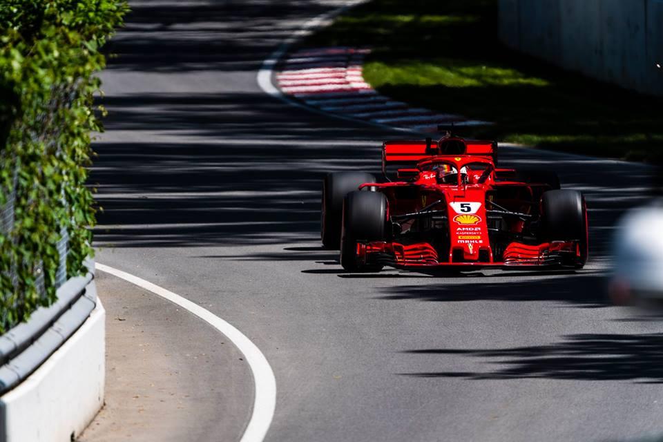 © Scuderia Ferrari - Vettel s'impose à Montréal et prend la tête du championnat !