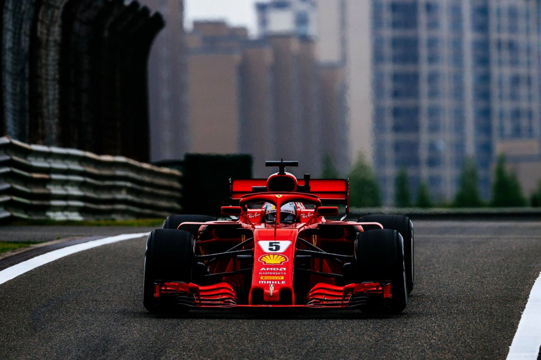 © Scuderia Ferrari - Avec cette pole à Shanghai, Sebastian Vettel reste le maître du chrono