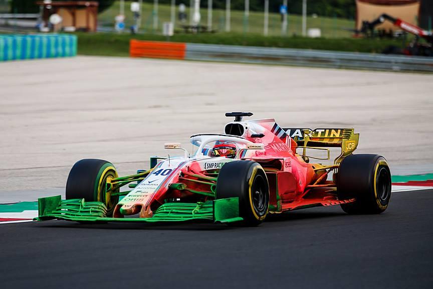 © Williams Racing - L'écurie anglaise a déjà testé l'aileron avant 2019, pour un résultat haut en couleurs !