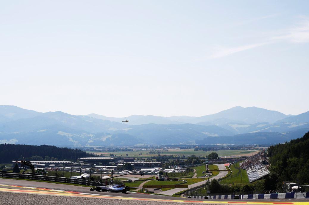 © Williams - D'une extrémité à l'autre des Alpes, il n'y a qu'une semaine en F1