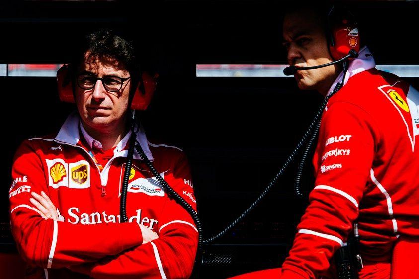 © Mattia Binotto nouveau directeur sportif de Ferrari
