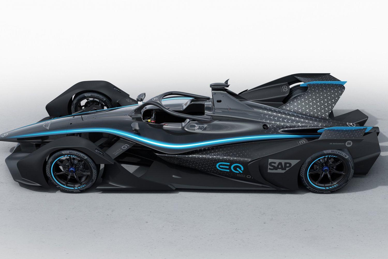 © Mercedes - Livrée conceptuelle pour la Formule E de Mercedes