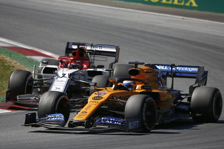 © McLaren - Norris 6ème à l'arrivée, occupant le rôle de meilleur des autres