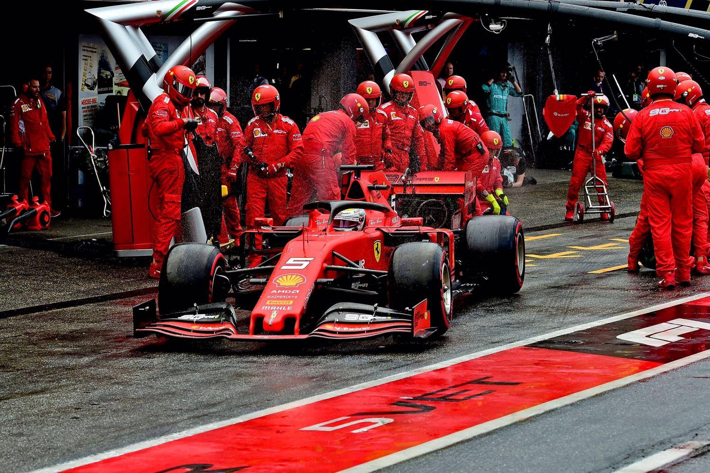© Ferrari - Grosse remontée de Vettel qui termine 2ème en partant dernier