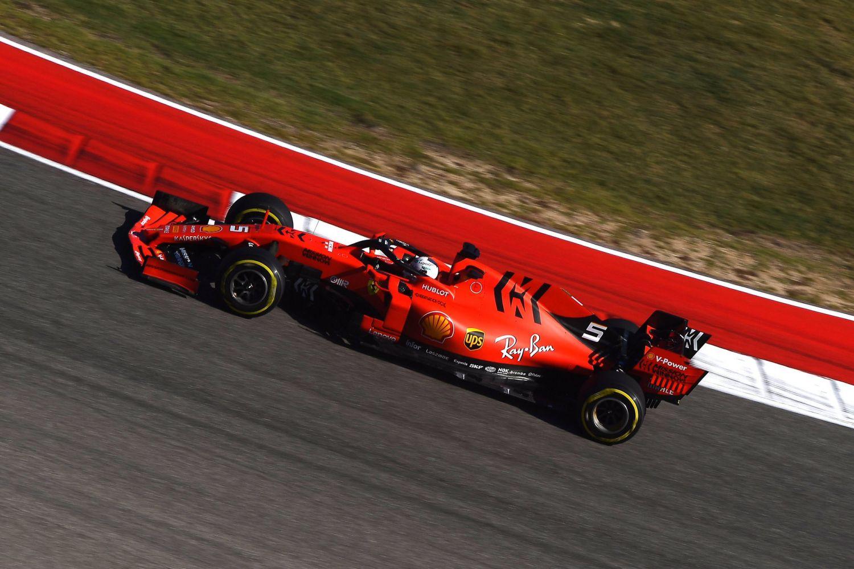 © Ferrari - Course désastreuse pour Vettel