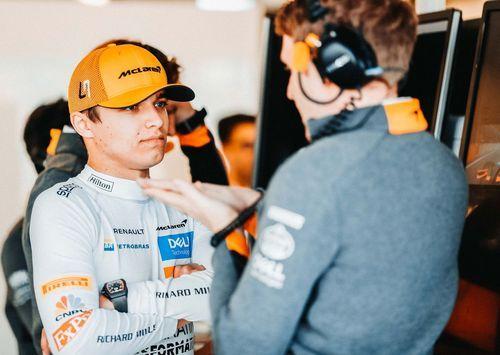 McLaren- Norris a brillé à Bakou avec une 8ème place