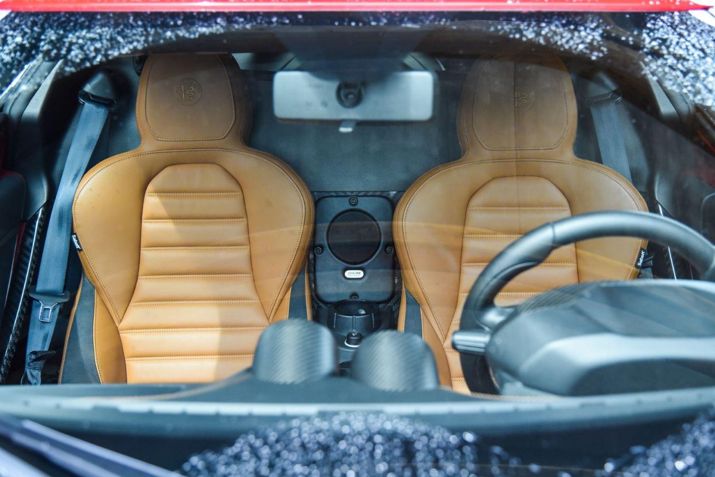Les sièges en cuir de la 4C