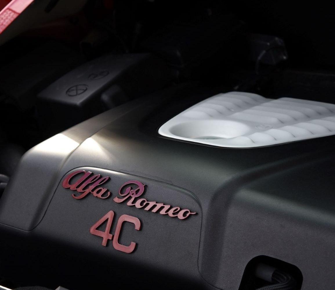 Le moteur de la 4C