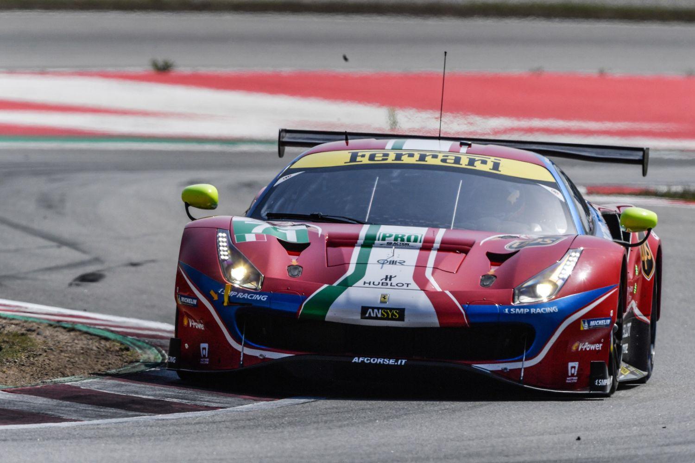 © La Ferrari #71 leader du GTE Pro