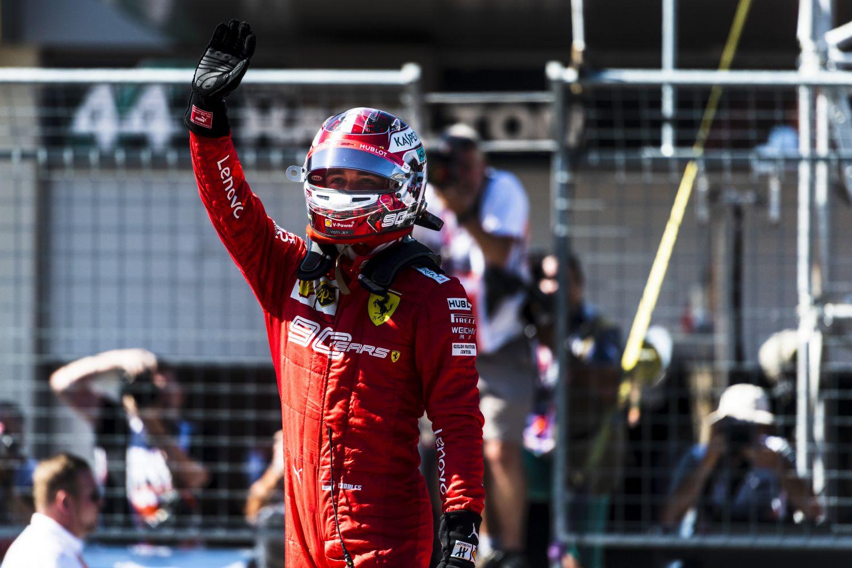 © Ferrari- une course difficile pour Leclerc qui finit sur la troisième marche du podium